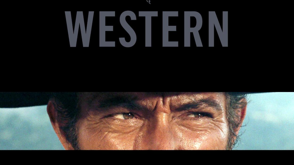 Lee Van Cleef dans le film « Le bon, la brute et le truand », de Sergio Leone, 1966. Couverture de l'ouvrage « Il était une fois… le western »
