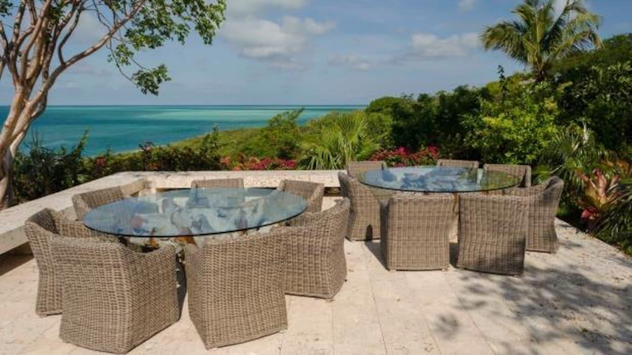L'île de Bell, dans les Bahamas