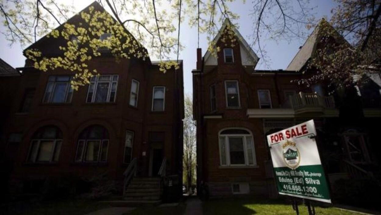 des maisons en vente à Toronto
