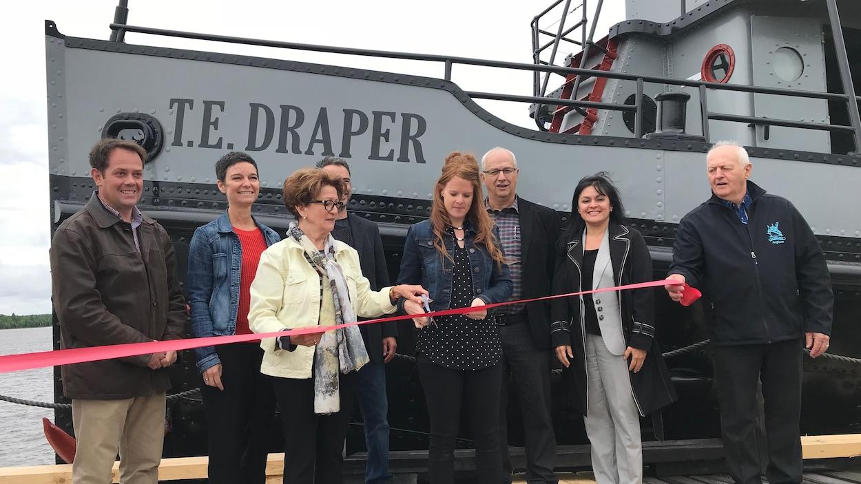 Le T.E Draper rénové à été inauguré le 14 juin.