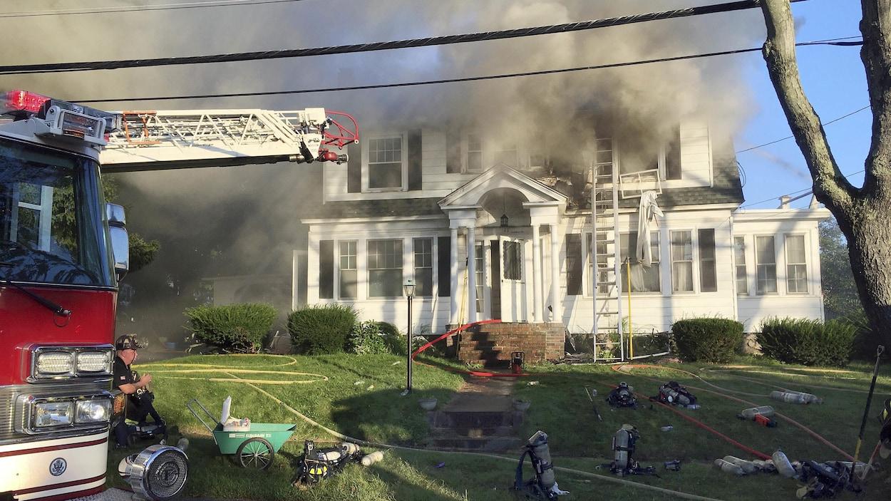 Près de Boston, série d'explosions au gaz dans des dizaines de maisons
