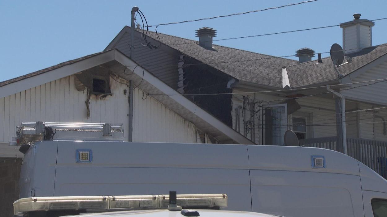Le SSIG indique que l'endroit est maintenant inhabitable et que les locataires devront se trouver un autre logement.