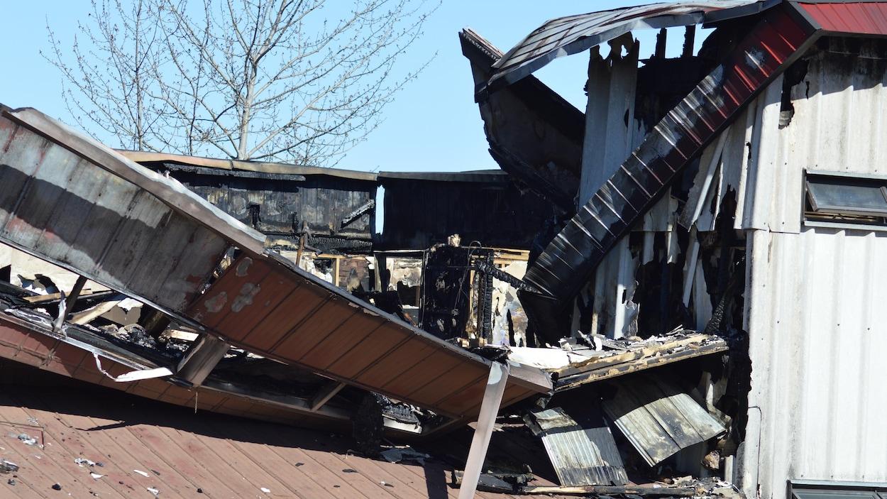Incendie aux résidences du Cégep de Gaspé