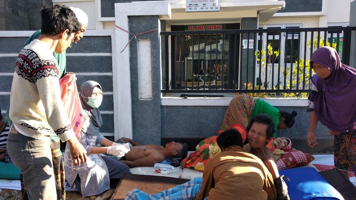 Au moins 10 morts dans le séisme de Lombok — Indonésie