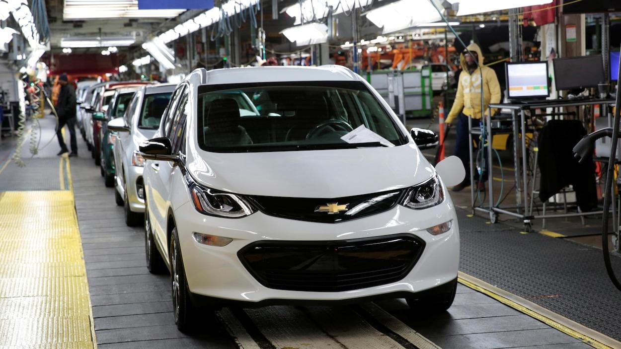 GM renonce à soutenir l'administration Trump contre la Californie — Pollution automobile