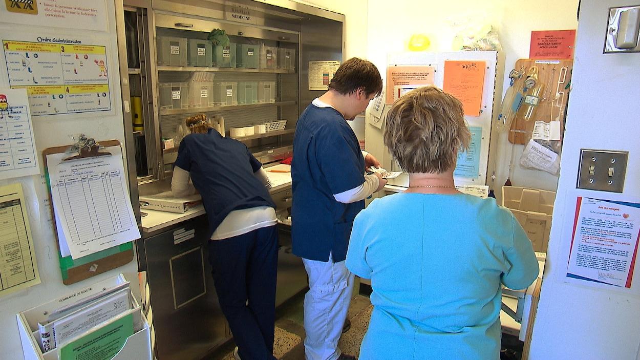 La création de 150 postes d'infirmières volantes est contestée au Bas-Saint-Laurent.