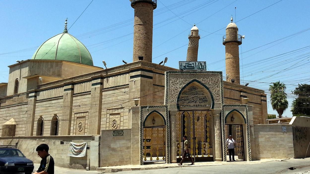 La mosquée Al-Nouri de Mossoul