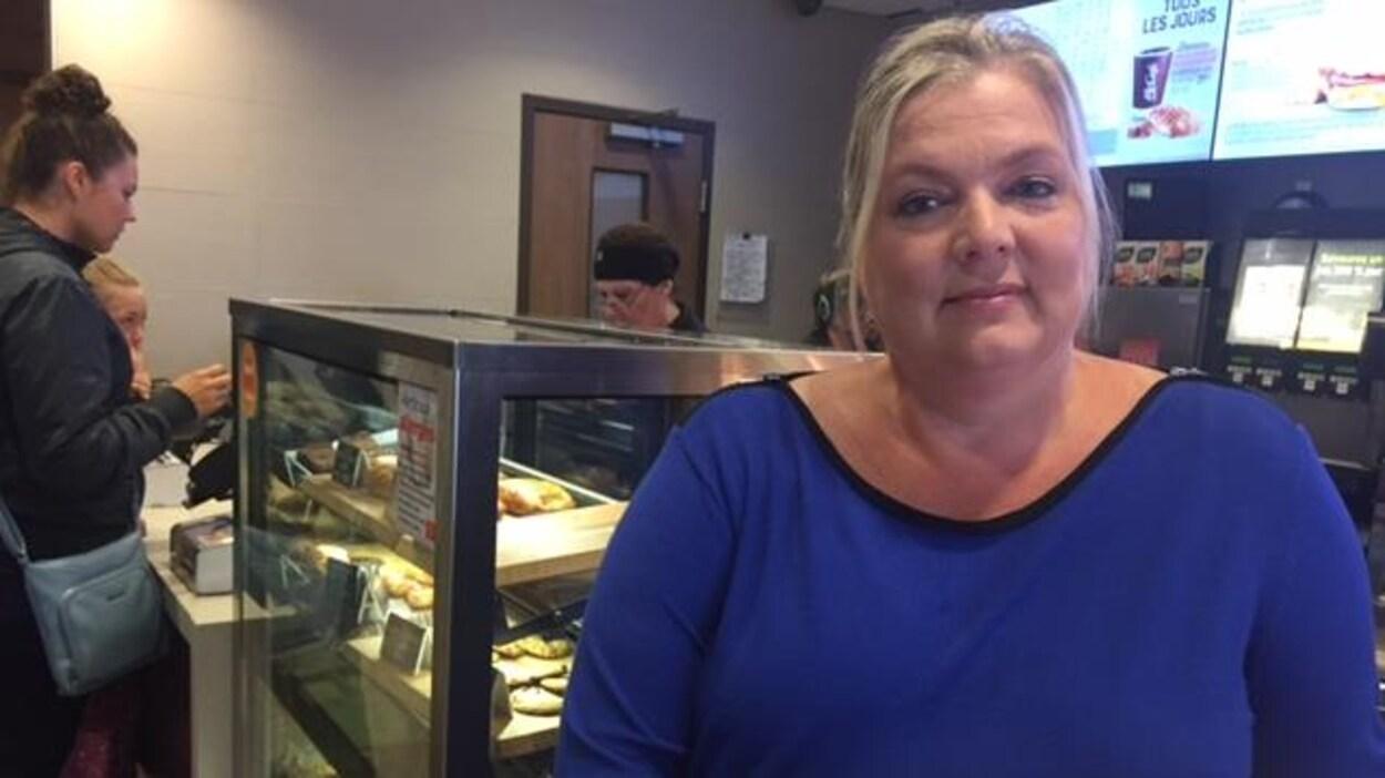 Isabelle Leblanc a une franchise McDonald's à Amos et Val-d'Or.