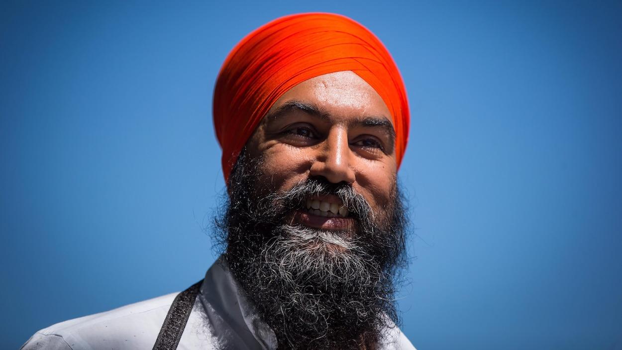 Le chef du NPD, Jagmeet Singh