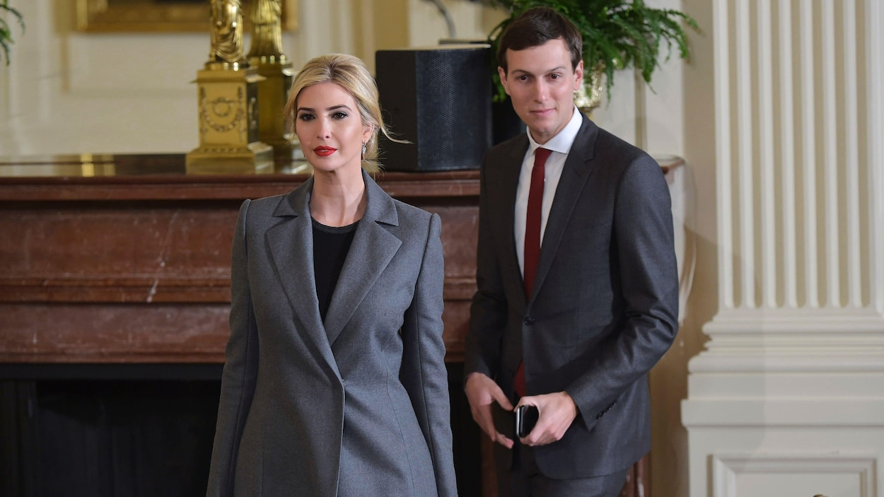 Ivanka Trump et son conjoint Jared Kushner.
