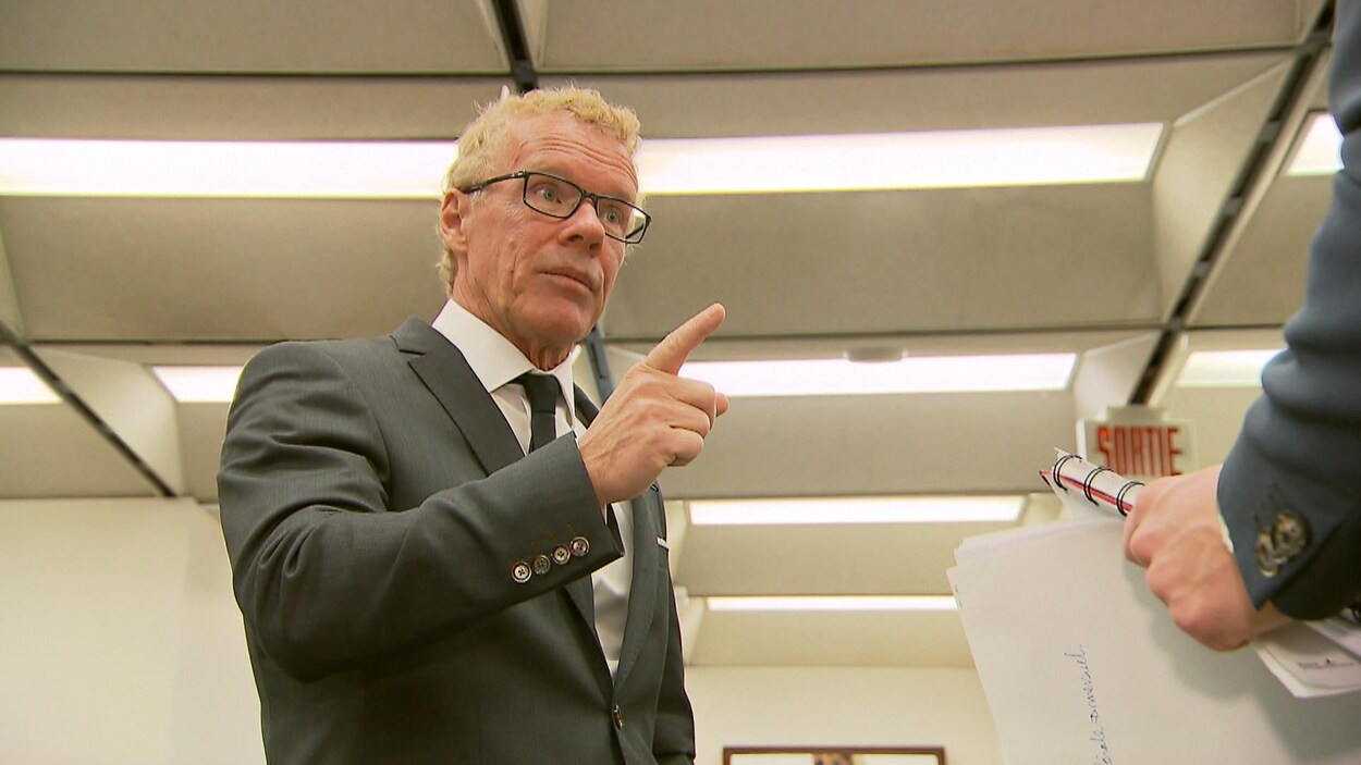 Jean Boulet en entrevue à Radio-Canada