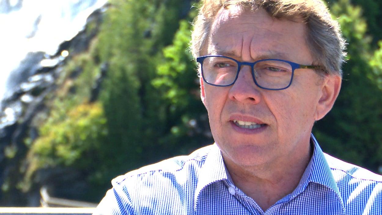 Jean D'Amour, candidat libéral dans la circonscription de Rivière-du-Loup-Témiscouata