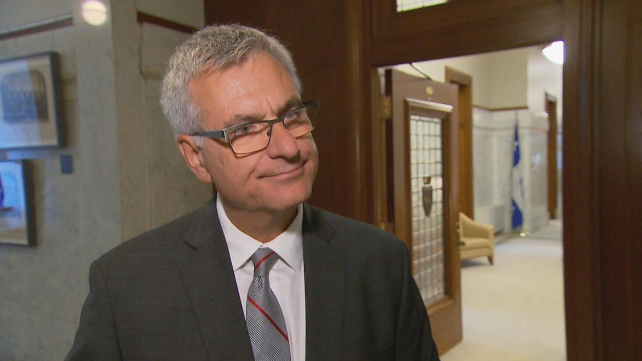 Jean-Marc Fournier, leader parlementaire du gouvernement du PLQ.