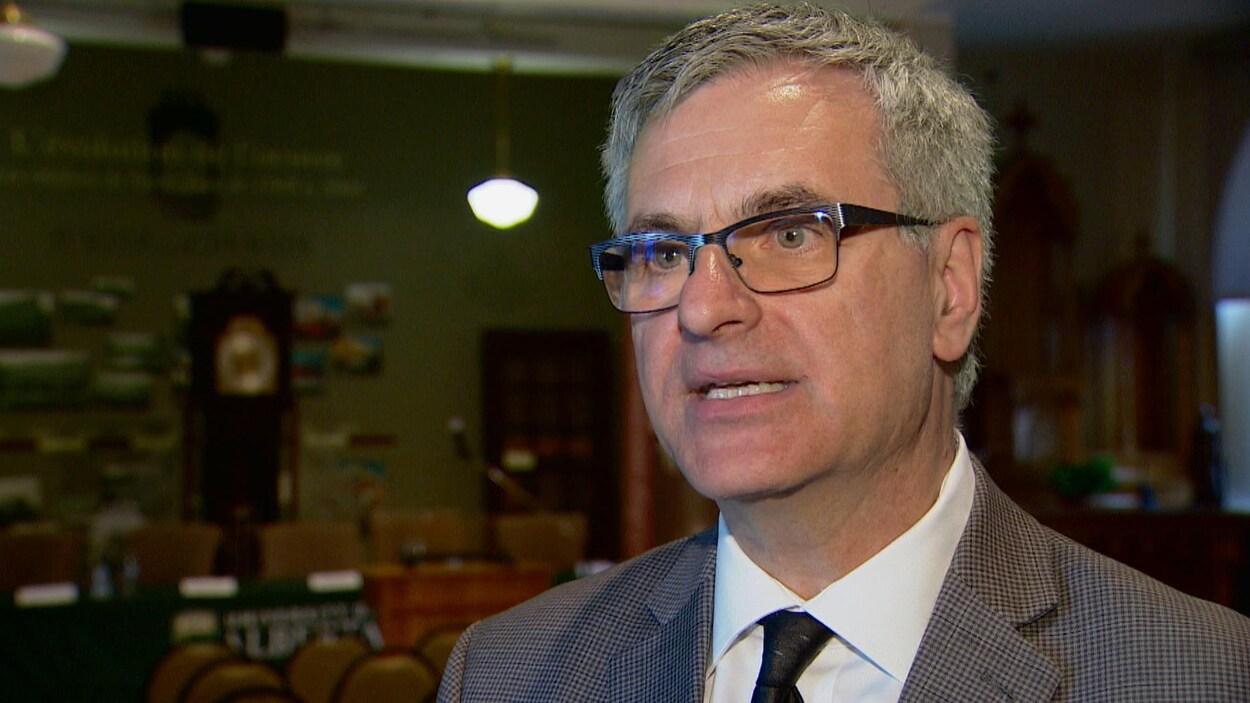Le ministre québécois des Affaires canadiennes, Jean-Marc Fournier,