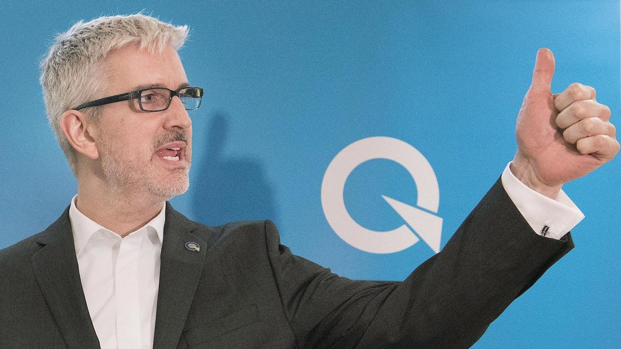 Jean-Martin Aussant a remporté l'investiture péquiste dans Pointe-aux-Trembles