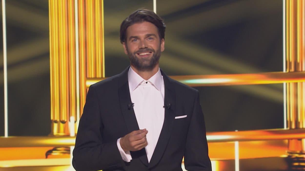 Jean-Philippe Wauthier, animateur du 33e Gala des prix Gémeaux.