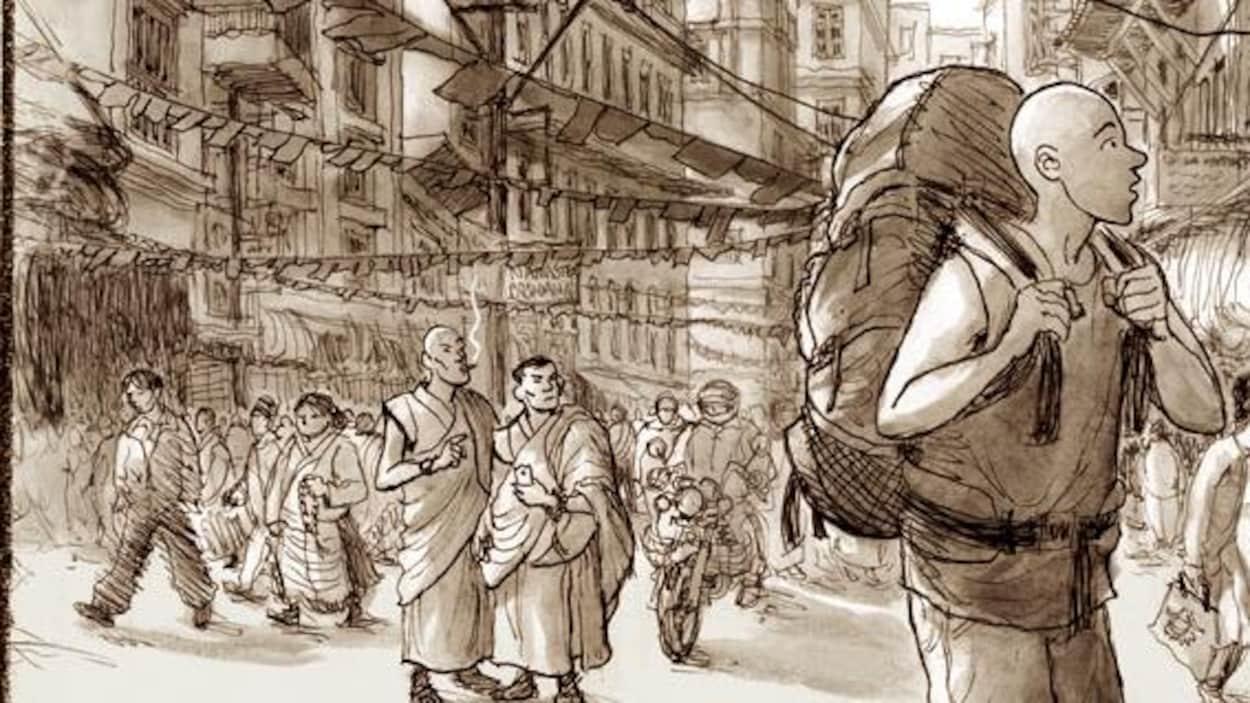 La couverture de Comment je ne suis pas devenu un moine