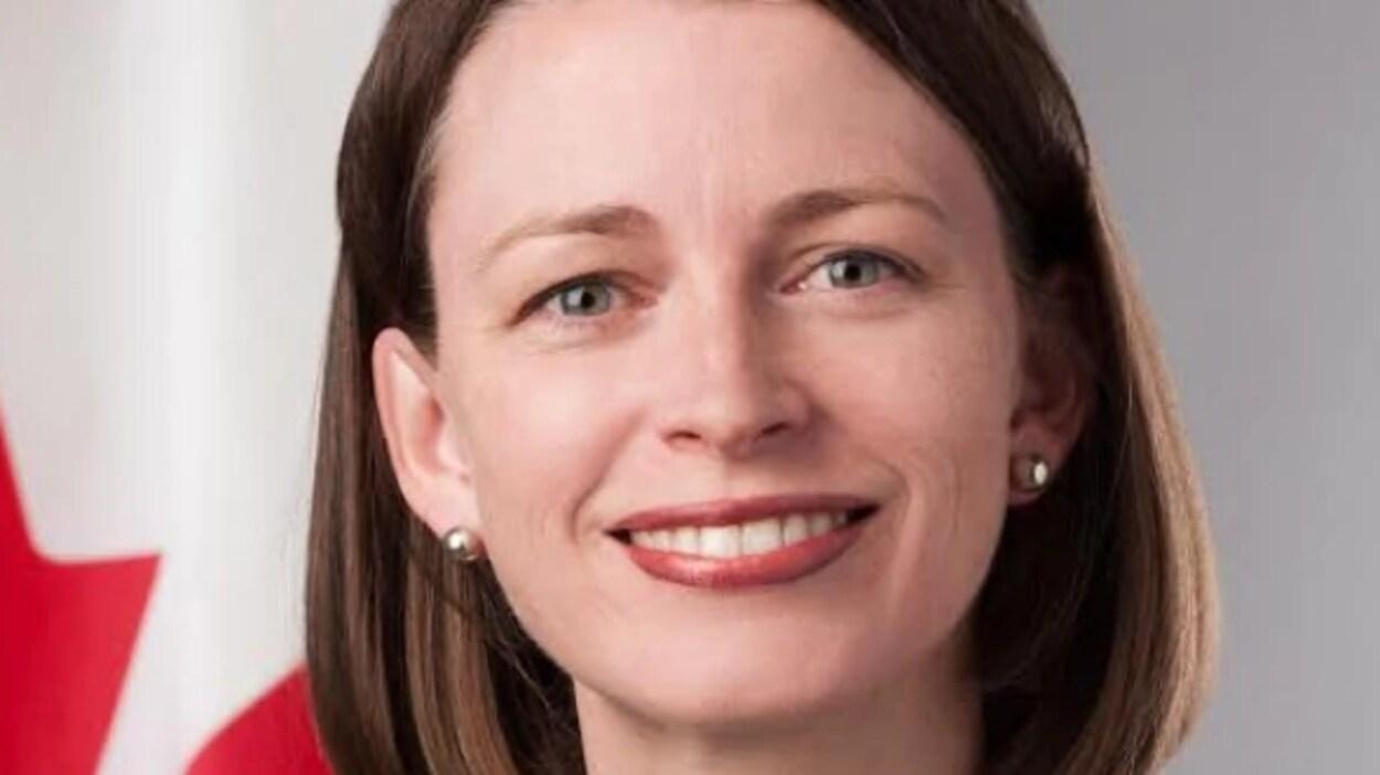 L'ambassadrice du Canada pour les changements climatiques, Jennifer MacIntyre.