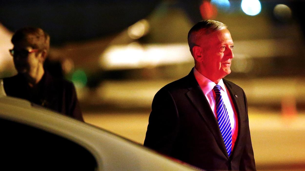 Jim Mattis, chef du Pentagone, en juin 2017