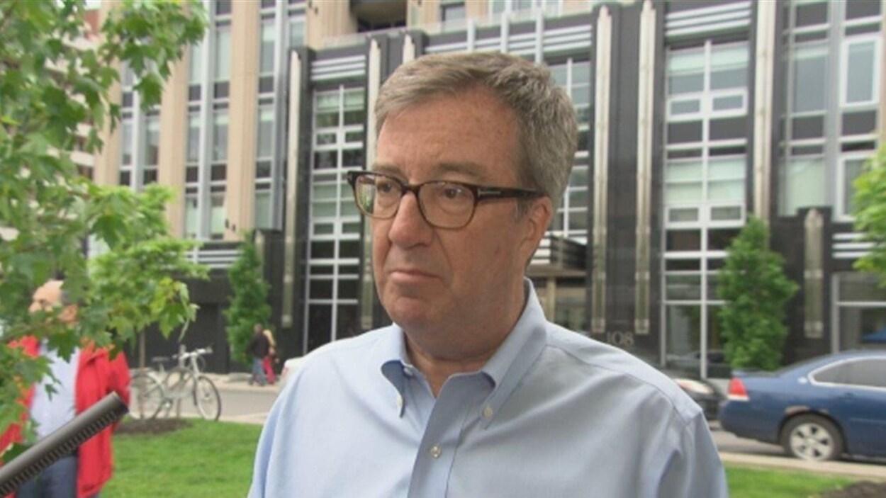Jim Watson, le maire d'Ottawa (Archives)