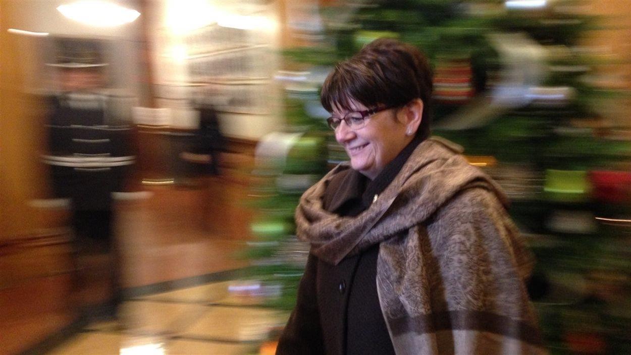 La lieutenante-gouverneure du Nouveau-Brunswick, Jocelyne Roy-Vienneau.