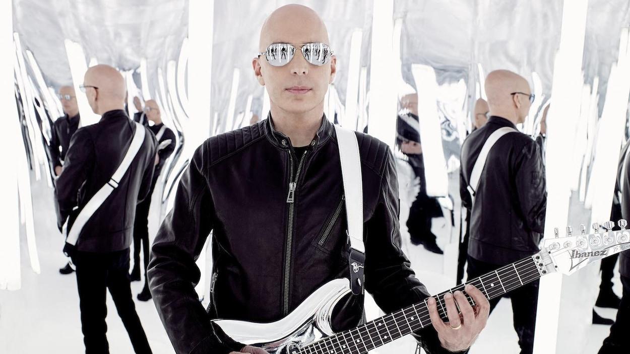La légende de la guitare Joe Satriani sera à Rouyn-Noranda le 26 mai prochain.