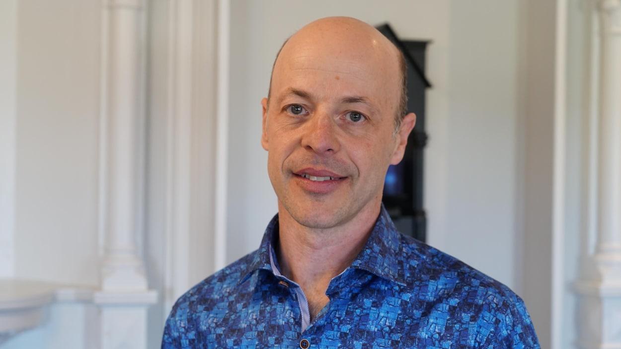 Le candidat du Parti québécois aux Îles-de-la-Madeleine, Joël Arseneau.
