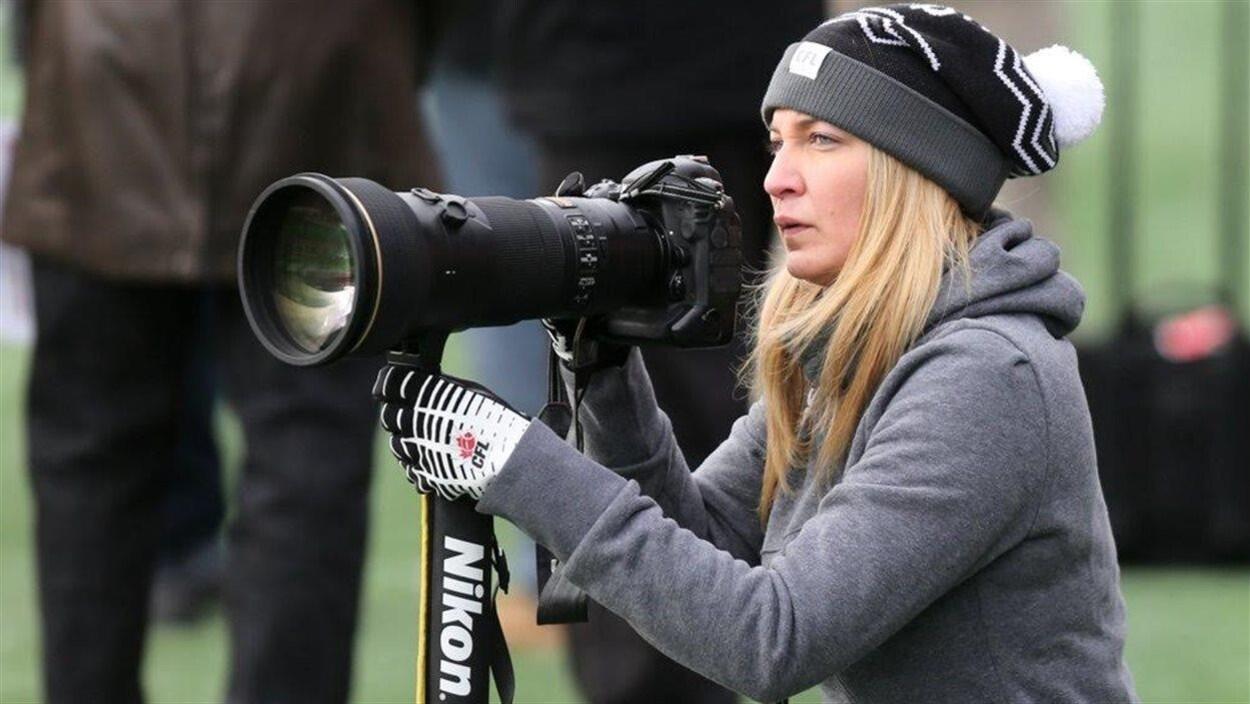 La photographe montréalaise Johany Jutras