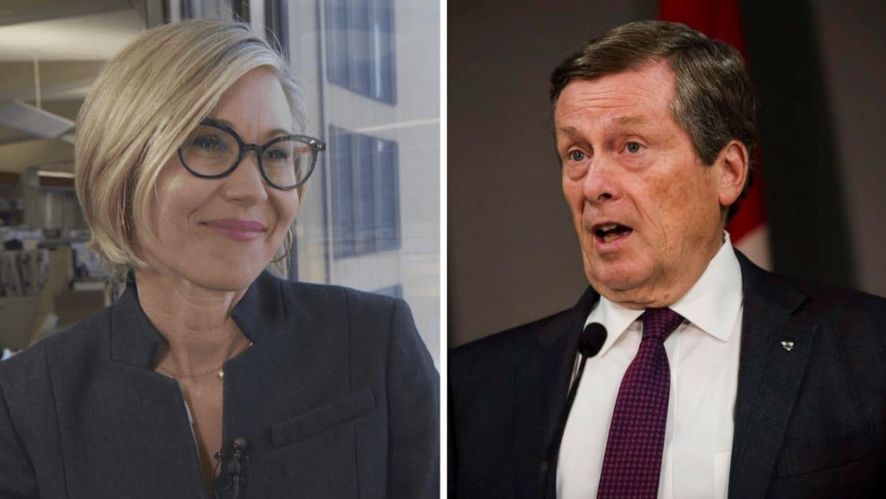 Portrait des deux candidats à la mairie de Toronto