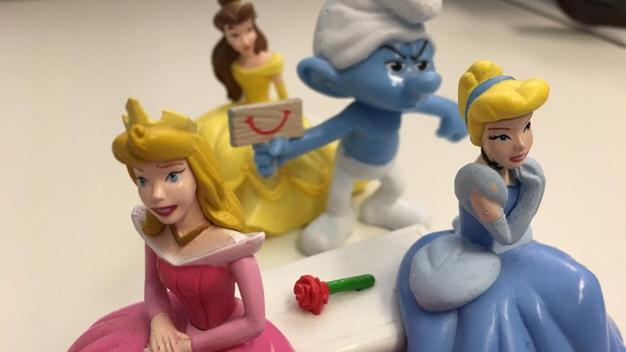 Des jouets d'enfants