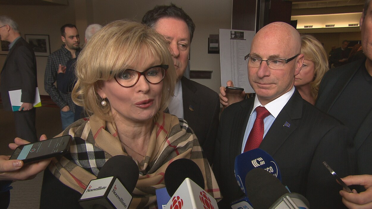 La ministre du Tourisme et députée de Laviolette, Julie Boulet, réagit au redécoupage de la carte électorale confirmée par le Directeur général des élections du Québec.