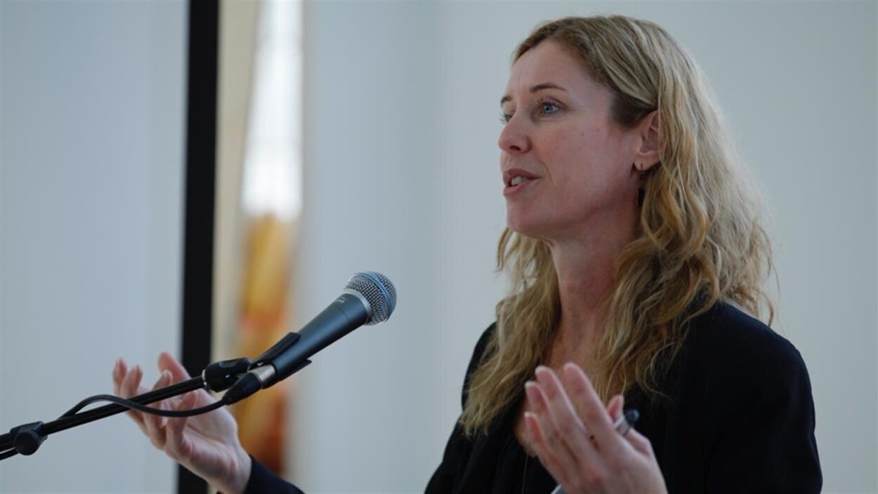 Julie Lemieux la conseillère du district électoral de la Chute-Montmorency–Seigneurial et vice-présidente du comité exécutif.