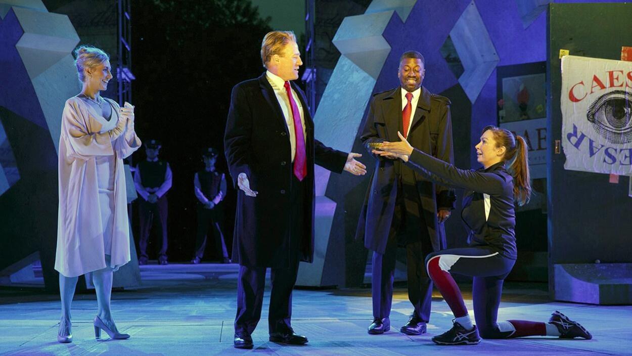 La pièce «Julius Caesar », de la troupe Public Theater de New York