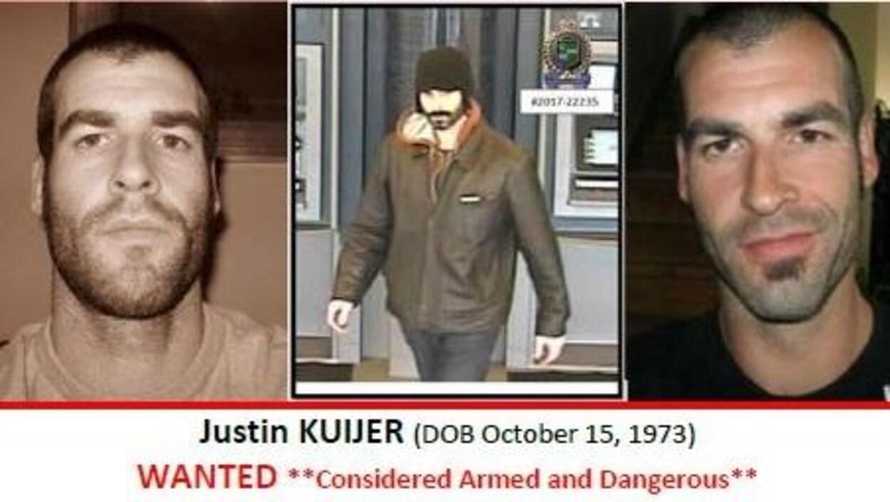 Photos du suspects