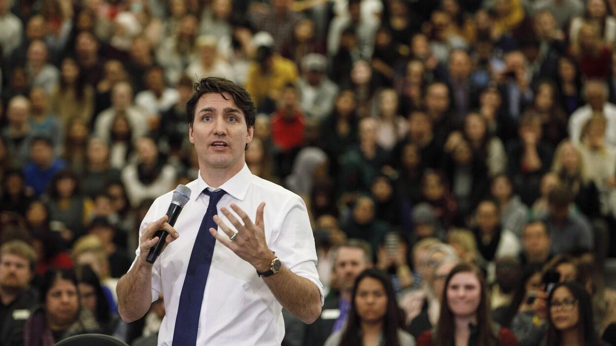 Justin Trudeau impliqué dans un accident de voiture
