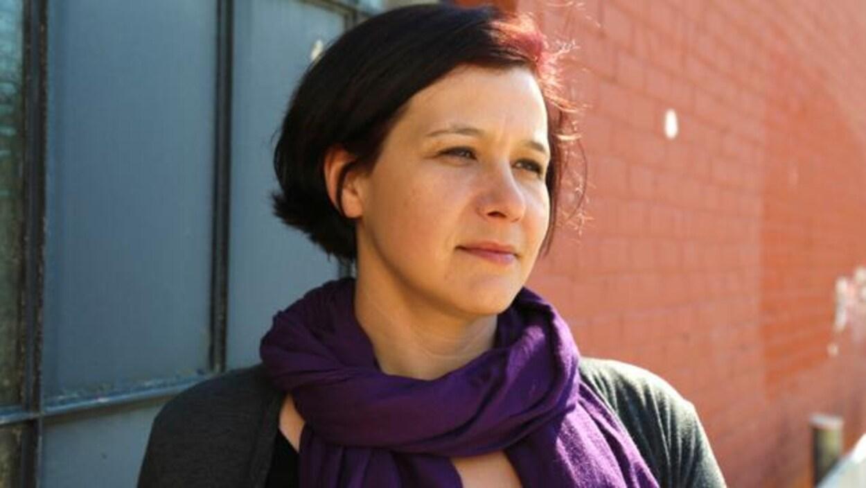 L'auteure Katherena Vermette.