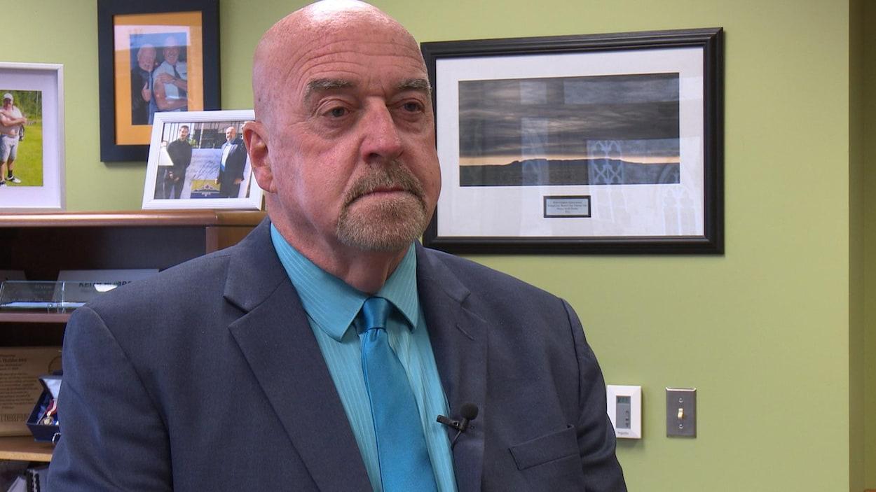 Le maire de Thunder Bay, Keith Hobbs
