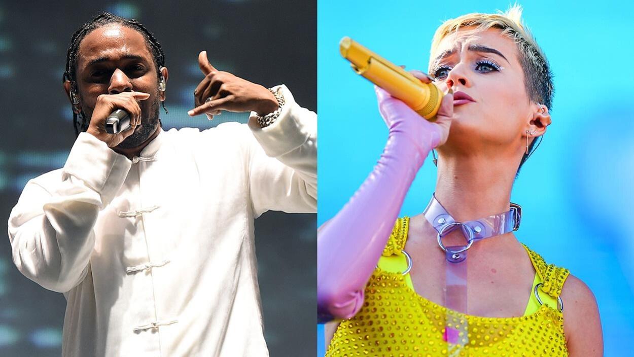 Kendrick Lamar et Katy Perry