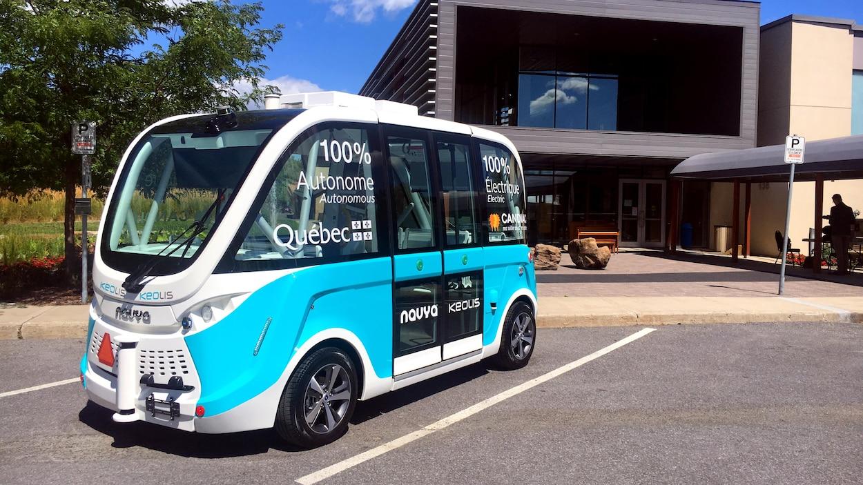L'autobus Navya, 100 % électrique et autonome