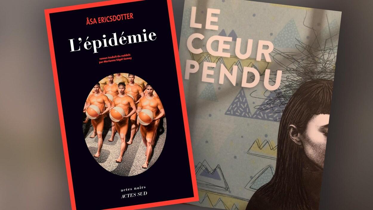 Quelques suggestions de lecture en cette première fin de semaine de juin. deux couvertures de romans.