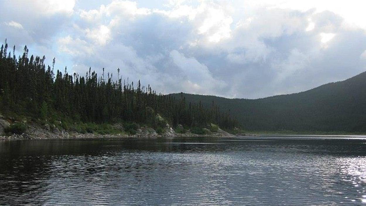 Le lac Cacaoui, sur le territoire de la Zec Matimek.