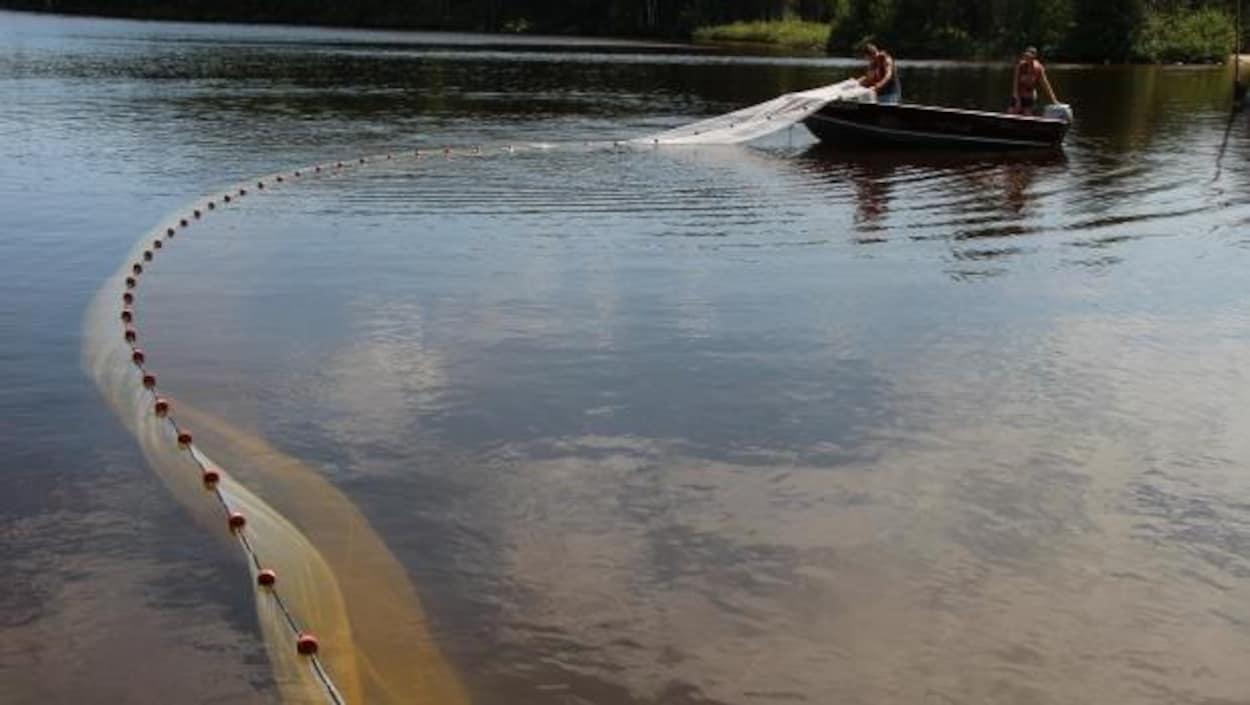L'un des lacs de la Région des lacs expérimentaux.