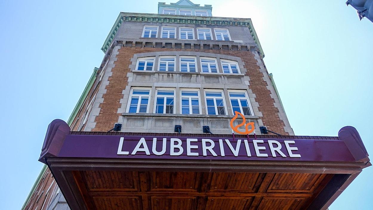 L'édifice de Lauberivière à Québec