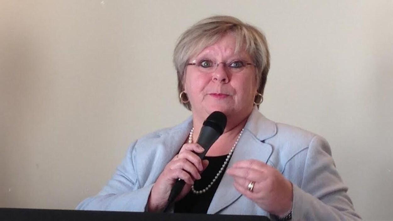 Laurence Méthot était candidate libérale dans Duplessis en 2014.