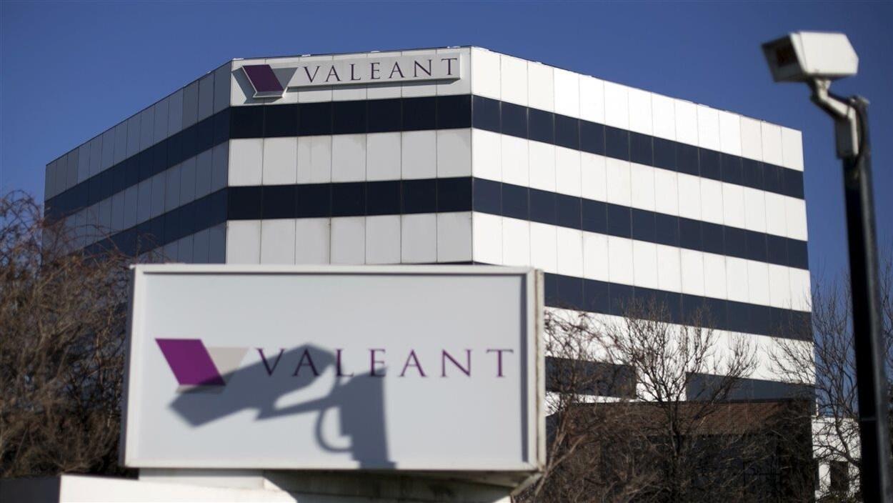 Le siège social de Valeant à Laval