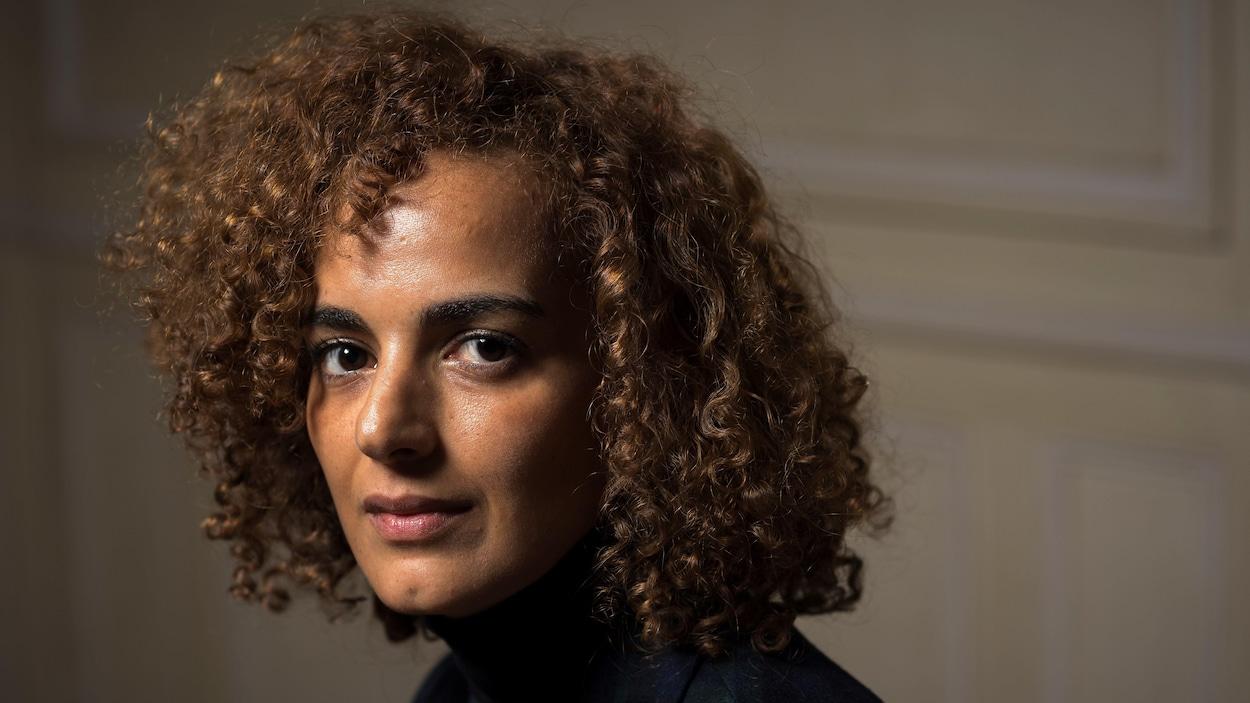 L'écrivaine franco-marocaine Leila Slimani pose pour une photo