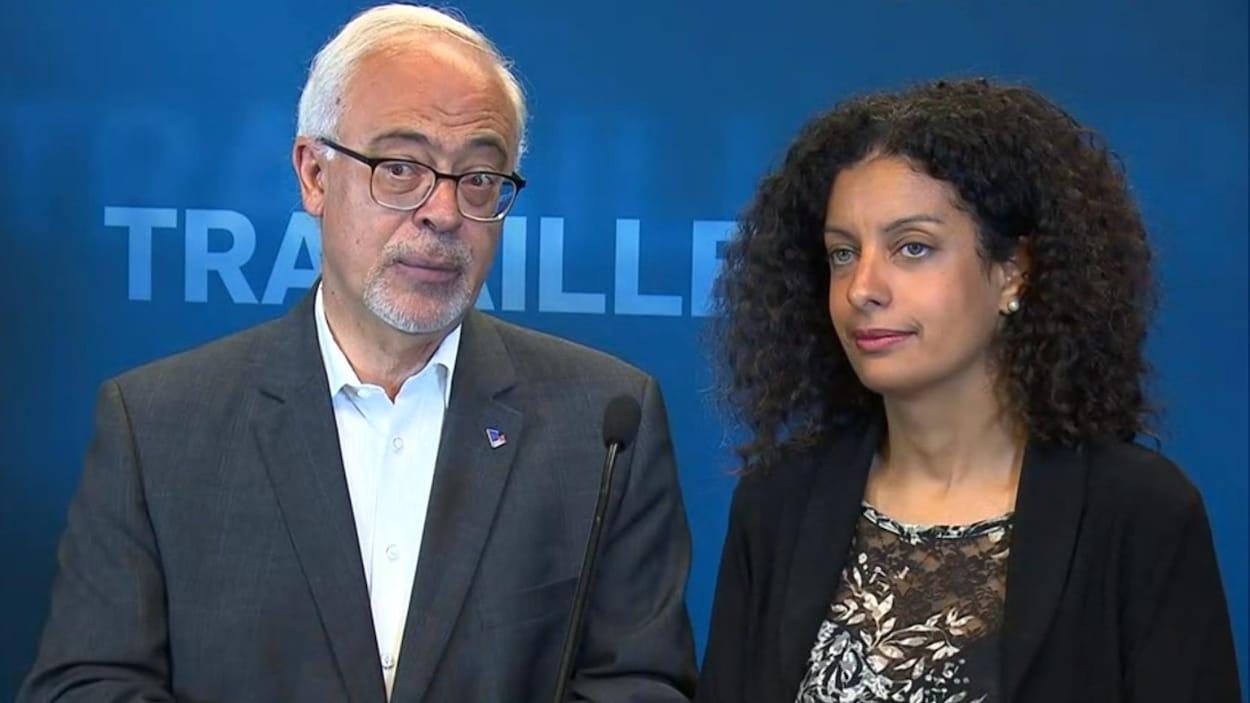 Carlos Leitao et Dominique Anglade.