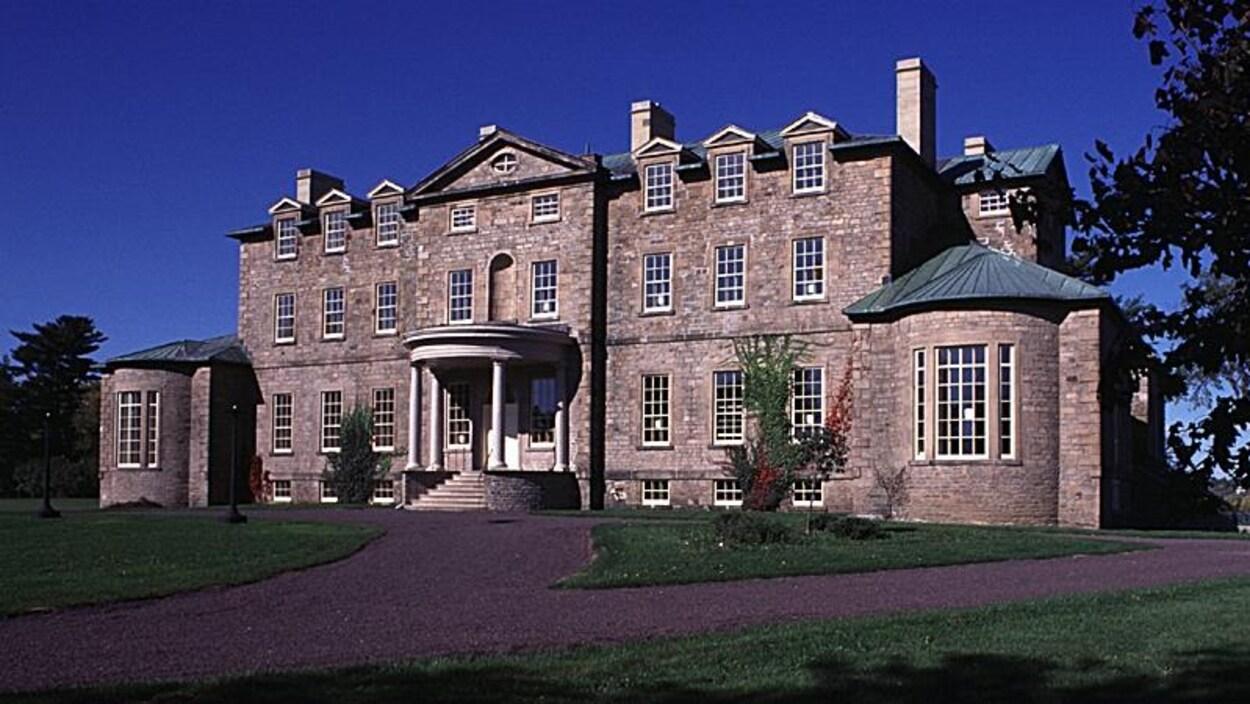 La résidence du lieutenant-gouverneur à Fredericton.