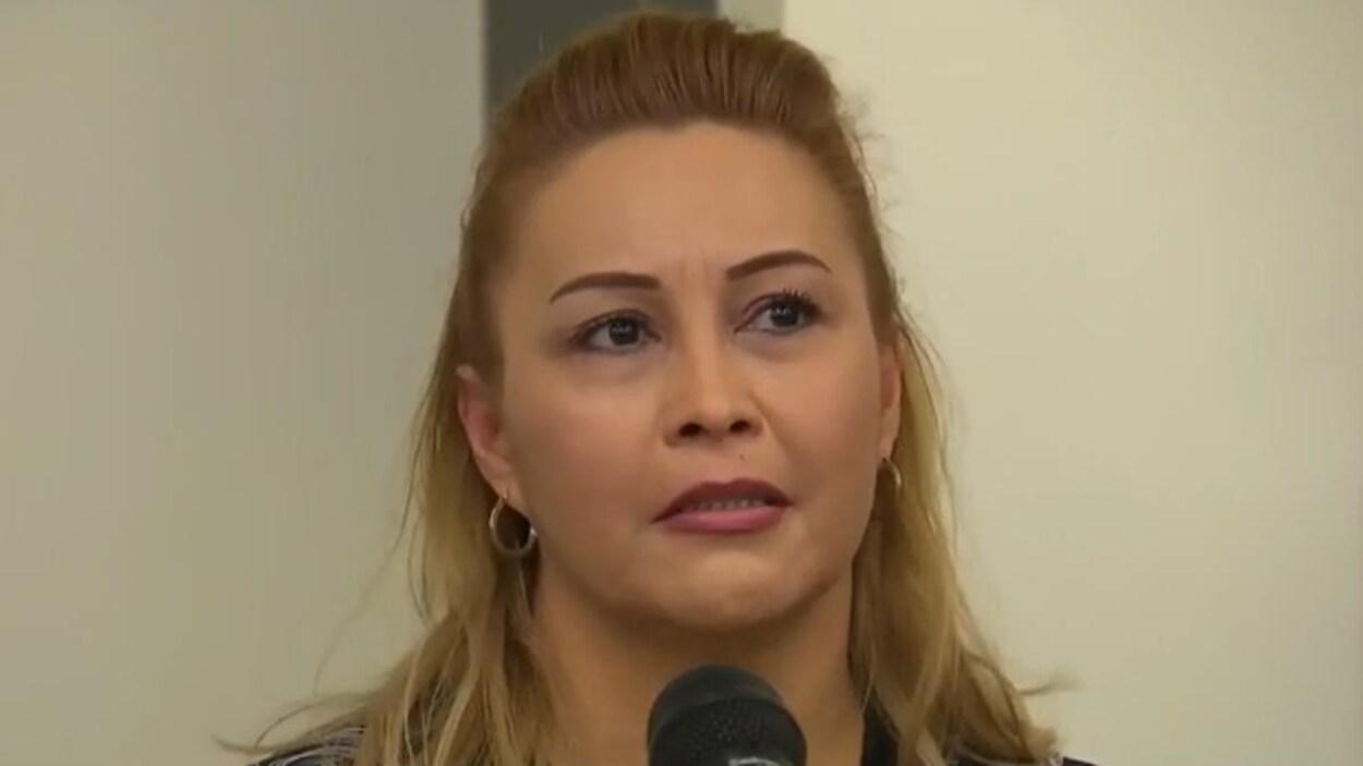 Lilian Villanueva, la mère de Fredy Villanueva