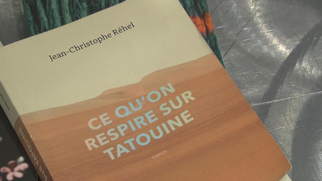 Le livre Ce qu'on respire sur Tatouine de Jean-Christophe Réhel